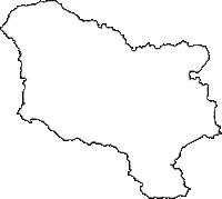 宮城県栗原市(くりはらし)の白地図無料ダウンロード