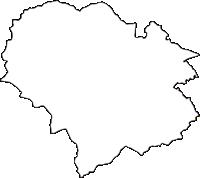 宮城県柴田郡大河原町(おおがわらまち)の白地図無料ダウンロード
