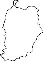 宮城県柴田郡柴田町(しばたまち)の白地図無料ダウンロード
