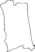 宮城県亘理郡山元町(やまもとちょう)の白地図無料ダウンロード