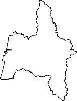 秋田県能代市(のしろし)の白地図無料ダウンロード