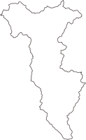 秋田県雄勝郡東成瀬村(ひがしなるせむら)の白地図無料ダウンロード