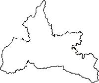福島県郡山市(こおりやまし)の白地図無料ダウンロード