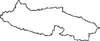福島県須賀川市(すかがわし)の白地図無料ダウンロード