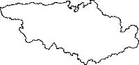 福島県二本松市(にほんまつし)の白地図無料ダウンロード