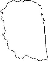 福島県南相馬市(みなみそうまし)の白地図無料ダウンロード