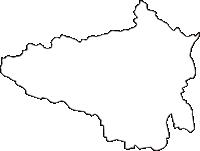 福島県伊達郡国見町(くにみまち)の白地図無料ダウンロード