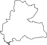福島県岩瀬郡鏡石町(かがみいしまち)の白地図無料ダウンロード