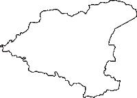 福島県耶麻郡磐梯町(ばんだいまち)の白地図無料ダウンロード