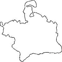 福島県河沼郡会津坂下町(あいづばんげまち)の白地図無料ダウンロード