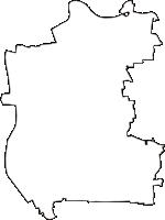 福島県河沼郡湯川村(ゆがわむら)の白地図無料ダウンロード