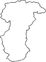 福島県大沼郡三島町(みしままち)の白地図無料ダウンロード