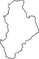 福島県大沼郡会津美里町(あいづみさとまち)の白地図無料ダウンロード