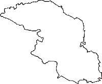 福島県西白河郡泉崎村(いずみざきむら)の白地図無料ダウンロード