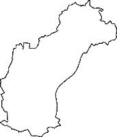 福島県西白河郡中島村(なかじまむら)の白地図無料ダウンロード