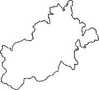 福島県東白川郡棚倉町(たなぐらまち)の白地図無料ダウンロード