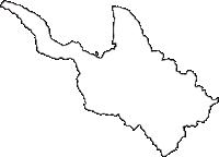 福島県東白川郡矢祭町(やまつりまち)の白地図無料ダウンロード