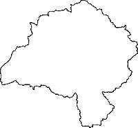 福島県石川郡石川町(いしかわまち)の白地図無料ダウンロード