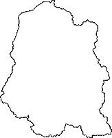 福島県石川郡平田村(ひらたむら)の白地図無料ダウンロード