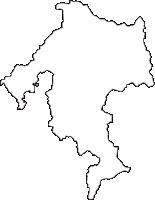 福島県石川郡浅川町(あさかわまち)の白地図無料ダウンロード