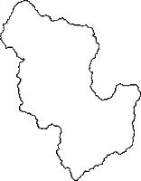 福島県田村郡小野町(おのまち)の白地図無料ダウンロード