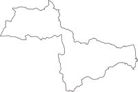 福島県双葉郡浪江町(なみえまち)の白地図無料ダウンロード