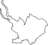 茨城県龍ケ崎市(りゅうがさきし)の白地図無料ダウンロード