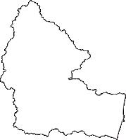 茨城県高萩市(たかはぎし)の白地図無料ダウンロード