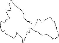 茨城県牛久市(うしくし)の白地図無料ダウンロード