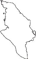 茨城県坂東市(ばんどうし)の白地図無料ダウンロード