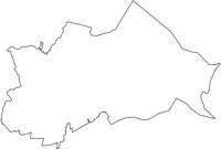 茨城県稲敷市(いなしきし)の白地図無料ダウンロード