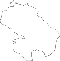茨城県小美玉市(おみたまし)の白地図無料ダウンロード