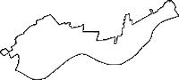 茨城県稲敷郡河内町(かわちまち)の白地図無料ダウンロード