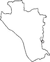 茨城県猿島郡境町(さかいまち)の白地図無料ダウンロード