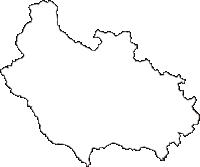 栃木県鹿沼市(かぬまし)の白地図無料ダウンロード