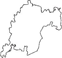 栃木県小山市(おやまし)の白地図無料ダウンロード