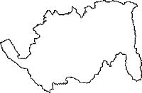 栃木県大田原市(おおたわらし)の白地図無料ダウンロード