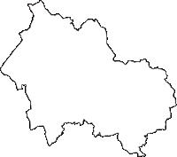 栃木県那須烏山市(なすからすやまし)の白地図無料ダウンロード