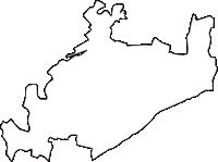 栃木県下都賀郡野木町(のぎまち)の白地図無料ダウンロード