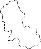 栃木県下都賀郡岩舟町(いわふねまち)の白地図無料ダウンロード