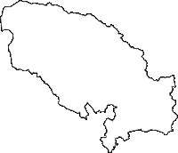 栃木県那須郡那須町(なすまち)の白地図無料ダウンロード
