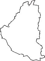 群馬県伊勢崎市(いせさきし)の白地図無料ダウンロード