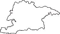 群馬県館林市(たてばやしし)の白地図無料ダウンロード
