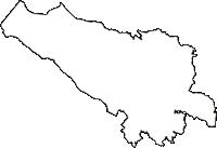 群馬県北群馬郡榛東村(しんとうむら)の白地図無料ダウンロード