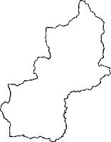 群馬県利根郡みなかみ町(みなかみまち)の白地図無料ダウンロード