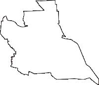 群馬県佐波郡玉村町(たまむらまち)の白地図無料ダウンロード