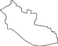 群馬県邑楽郡千代田町(ちよだまち)の白地図無料ダウンロード