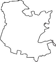 群馬県邑楽郡邑楽町(おうらまち)の白地図無料ダウンロード