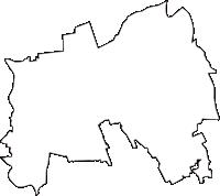 埼玉県さいたま市大宮区(おおみやく)の白地図無料ダウンロード