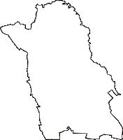 埼玉県さいたま市見沼区(みぬまく)の白地図無料ダウンロード